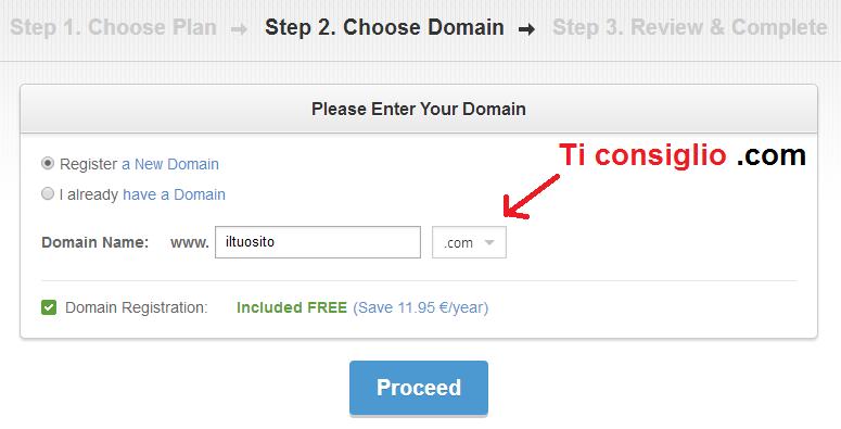 dominio siteground