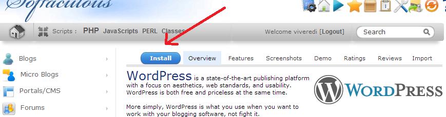 configurazione wordpress siteground